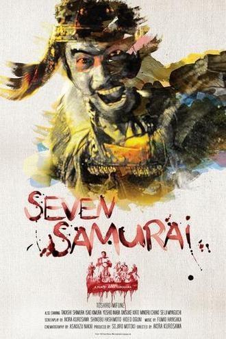 Shichinin no samurai / Seven samurai