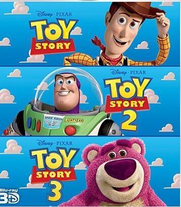Toy Story, Pixarren trilogia