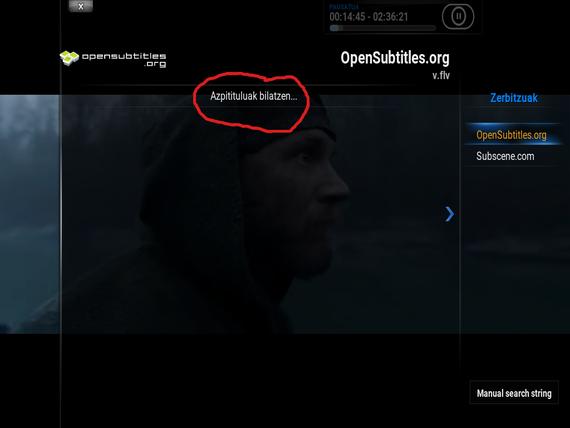 Opensubtitles, Kodi eta PopcornTime
