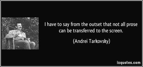 Andrei Tarkovski: bilaketa baten heptalogia