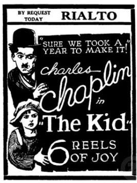 The Kid, azpitituluekin eta musika zuzenean