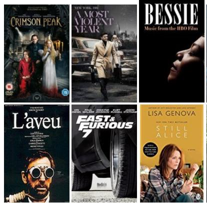 50 filmeko karga masiboa: Costa-Gavras, Mission Impossible, Clint Eastwood eta beste