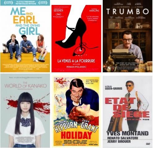 Ramanujan edo Dalton Trumbo-ren biopic-ak eta beste hainbat film